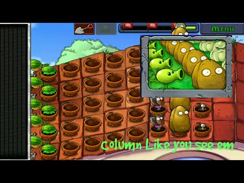 Column Like you see Em   MINIGAMES   Plants VS Zombies