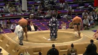 大相撲.2016.7.11.nagoya Basho/day 2/千代栄(chiyosakae)-天空海(akua) #sumo