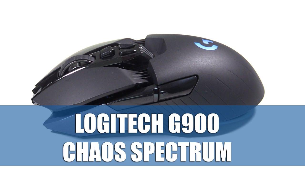 Logitech G900 Chaos Spectrum Kabellose Kabelgebundene Gaming Maus im Hands