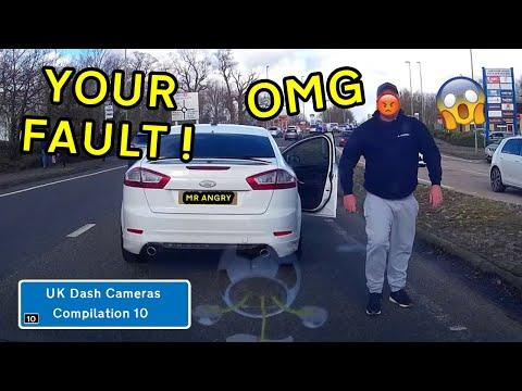 UK Dash Cameras - Compilation 10 - 2020 Bad Drivers, Crashes + Close Calls