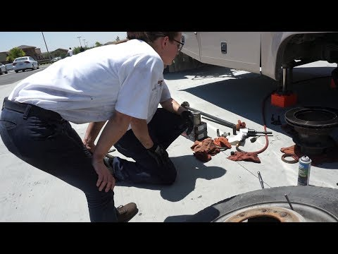 Motorhome Repairs at Les Schwab ~ RV LIFE
