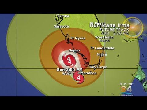 Tracking Hurricane Irma 9/10 8AM