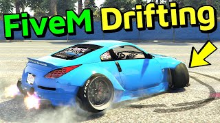 CRAZY FiveM Drifting in MAD DRIFT Server! - GTA 5 Online
