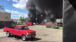Plane crash near Teterboro Airport in Carlstadt: Raw video