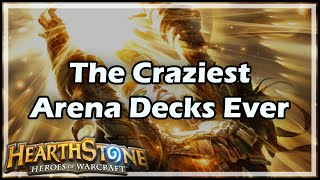 [Hearthstone] The Craziest Arena Decks Ever