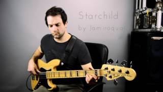 Starchild - Jamiroquai. Bass guitar cover by Mitch Cockman - Yorkshire Bass Player