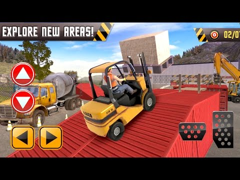 Construction Sim 2016 Forklift (by VascoGames) Android Gameplay [HD] - 동영상