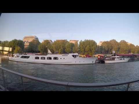 Bateaux Parisiens - Seine River Cruise April 2017