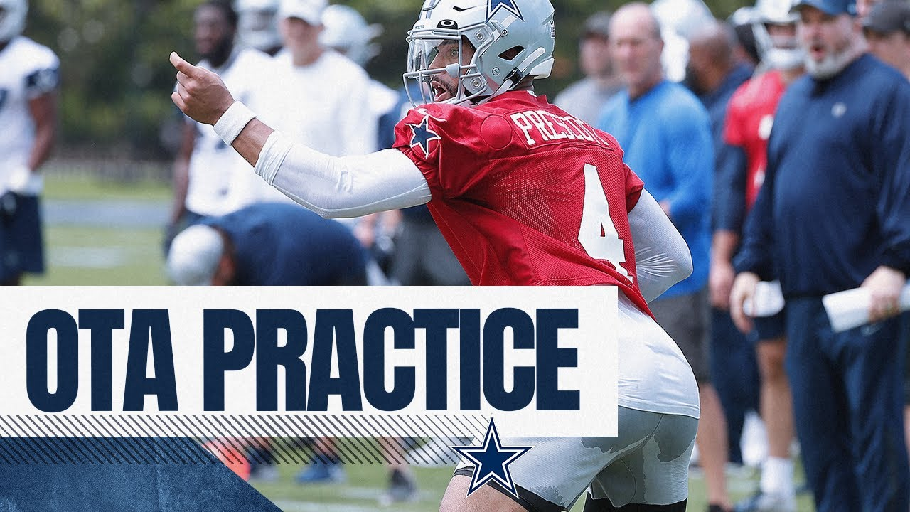 OTA Practice   Dallas Cowboys 2021