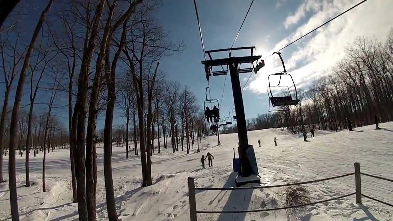 jack frost big boulder ski trip - youtube