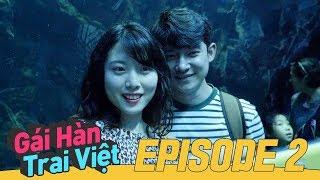 Đặt biệt danh và hẹn hò trong thủy cung Aqua Planet 🐳 | Gái Hàn Trai Việt - Tập 2