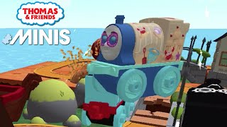 Thomas and Friends Minis - The Pirate Fort Emily Thomas 2021 Train Track! ★ iOS/Android (by Budge)