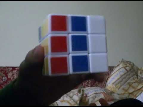 How To Do The Russian Flag at Rubik's Cube