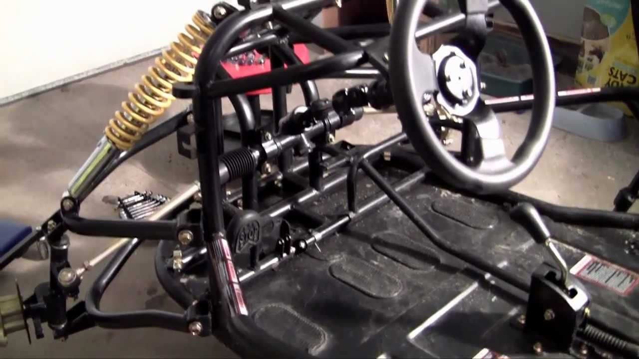 How to Build a Go Kart - 8 - Steering
