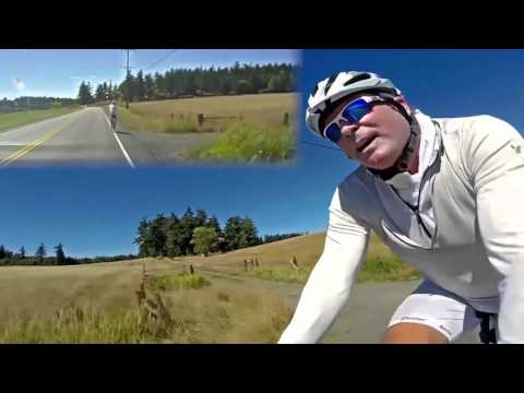 San Juan Island For YouTube (Dual POV and Trailing HD Video Covering Entire Ride)
