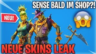 SENSE BALD IM SHOP?! 😱 *NEUE* SKINS LEAK! (SEASON 6) | Fortnite Battle Royale (Deutsch) | Detu