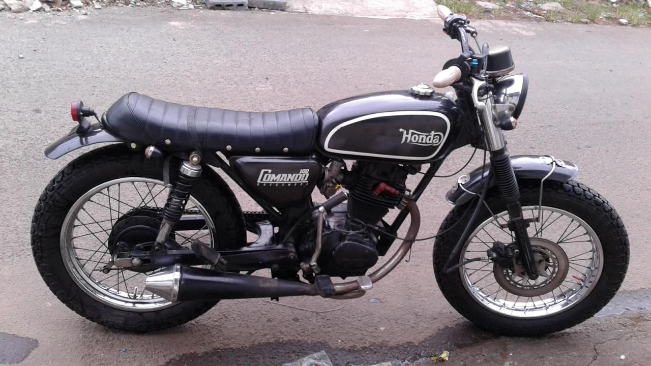 motor custom japstyle cb100 - youtube
