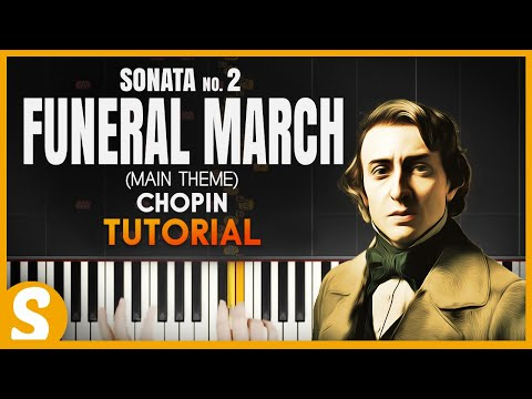 """How to play """"FUNERAL MARCH"""" from Sonata no. 2 by Chopin  