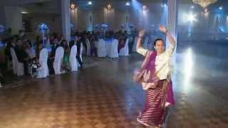 Solo Dance at An Indian Wedding Reception GTA Wedding Videographer Photographer Toronto
