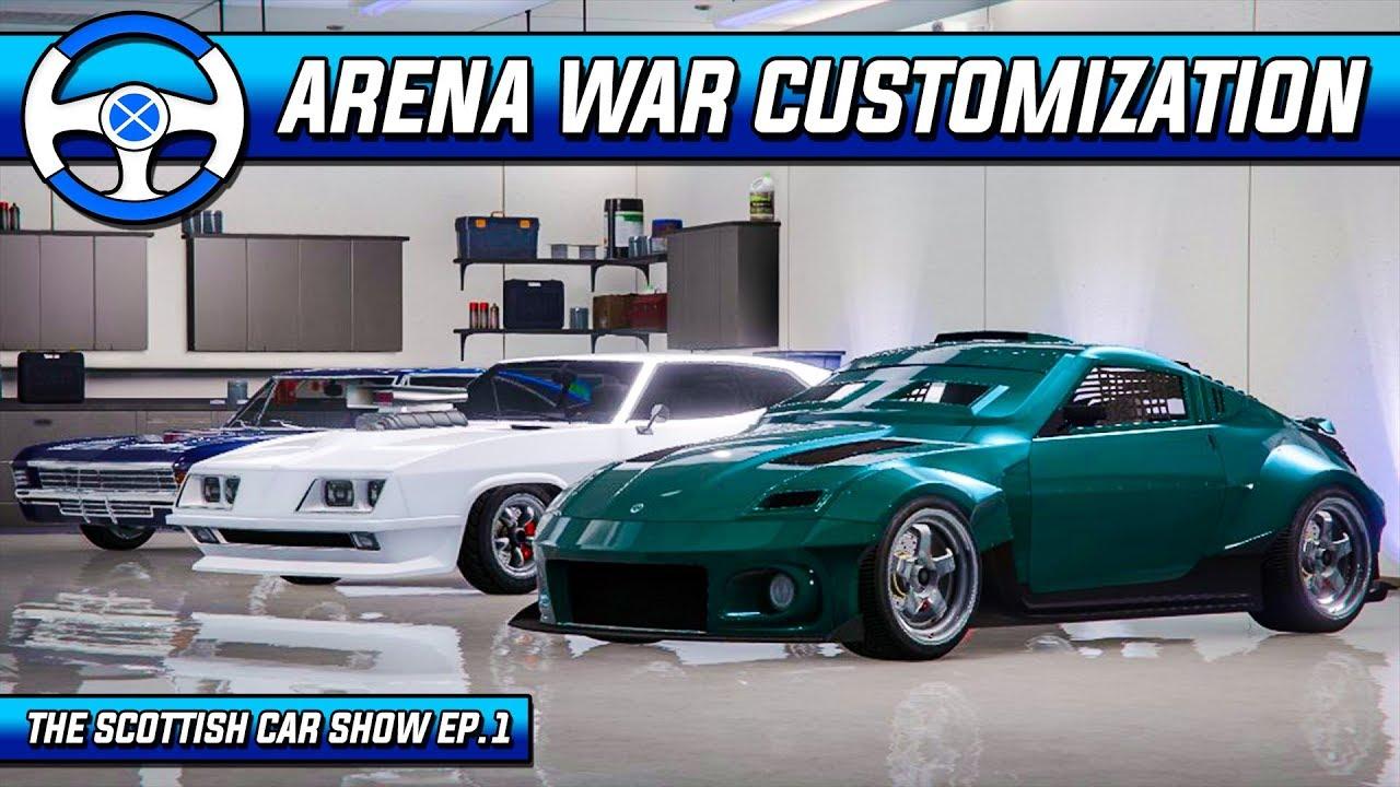 Zr380 Imperator Impaler Customization Gta Online Arena War Dlc Youtube