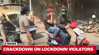 Mumbai Police Crackdown On Lockdown Violators, Checks Papers At Blockades