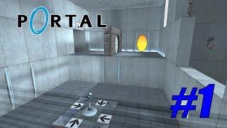 Portal Прохождение - Обучение #1