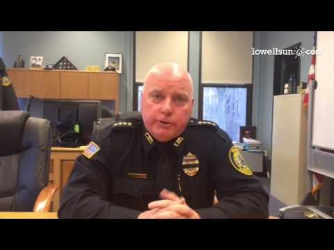 Superintendent William Taylor explains the use of encrypted radio communications by Lowell police.