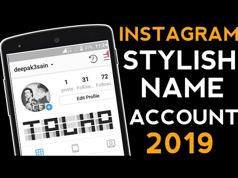 How To Stylish Name On Instagram Account 2019 Youtube Stylish fonts make your instagram fonts look attractive. stylish name on instagram account