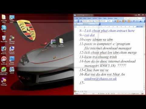Tai Va Cai Dat Internet Manager (IDM 5.18)