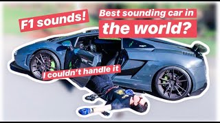 This is what it's like driving a STRAIGHT PIPED Lamborghini Gallardo Superleggera!