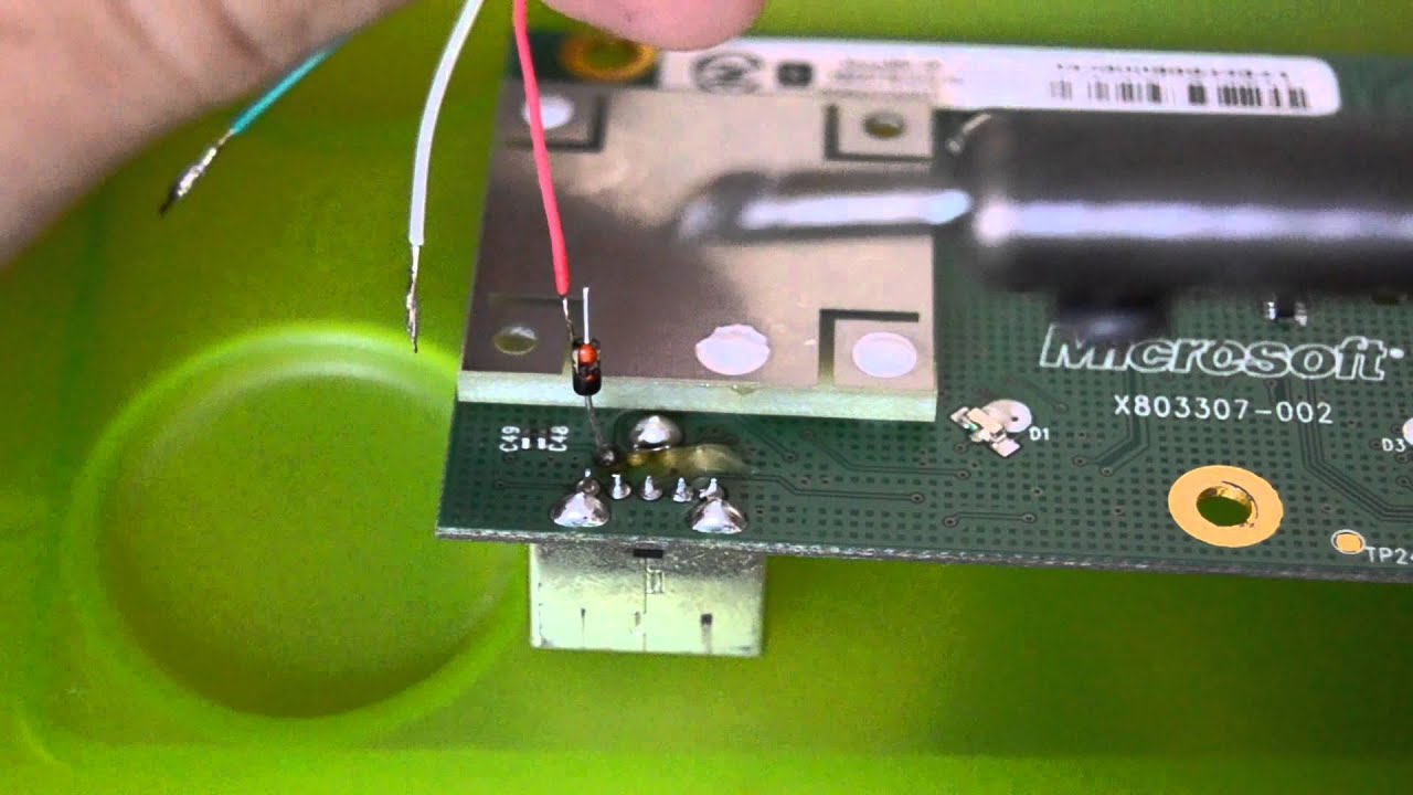 how to make a homemade xbox 360 controller wireless receiver for pc hd  [ 1280 x 720 Pixel ]
