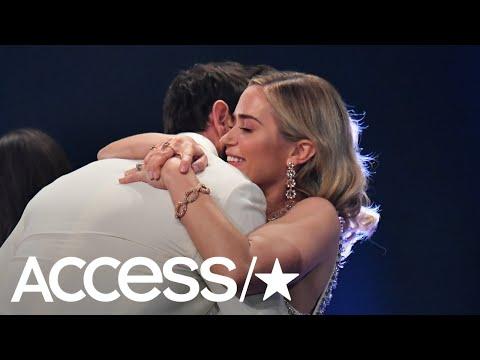 John Krasinski Calls Wife Emily Blunt The Love Of His Life In Romantic Critics' Choice Awards Speech