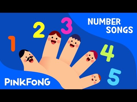Five Fingers  Number Songs  Pinkfong Songs for Children