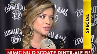 Stiri Kanal D, Alexandra Dinu- invitata speciala la petrecerea Jack Daniel's