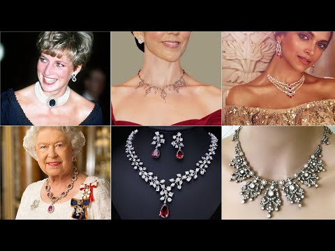 Diamond Jewellery Set Vintage-Style Victorian Jewellery Set 2020