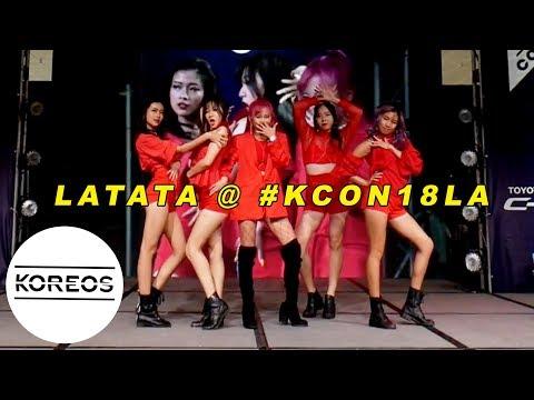 [#KCON18LA] (G)I-DLE 여자아이들 - LATATA 라타타 Dance Performance by G-LDN @ COVER STAR K