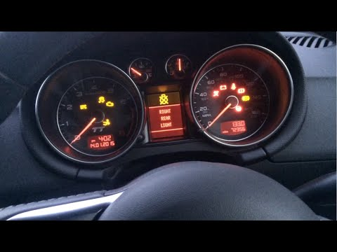 Audi Tt Mk2 Rear Light Error Repair Oem Method Earthing
