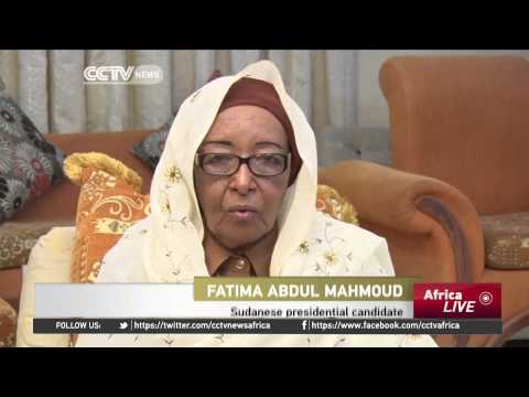 Sudan Elections: Female Presidential Candidate Vies For Top Spot