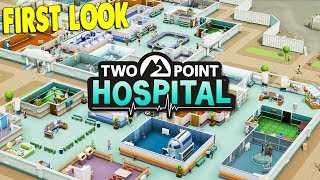 CRAZY NEW HOSPITAL SIMULATOR TYCOON BUILDER | Two Point Hospital Gameplay