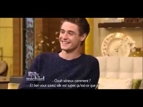 Max Irons  Kelly and Michael