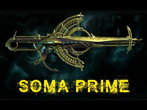 Build Soma Prime Warframe