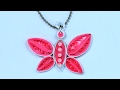 Quilling Jewelry - DIY Necklace from Paper Quilling Step by Step