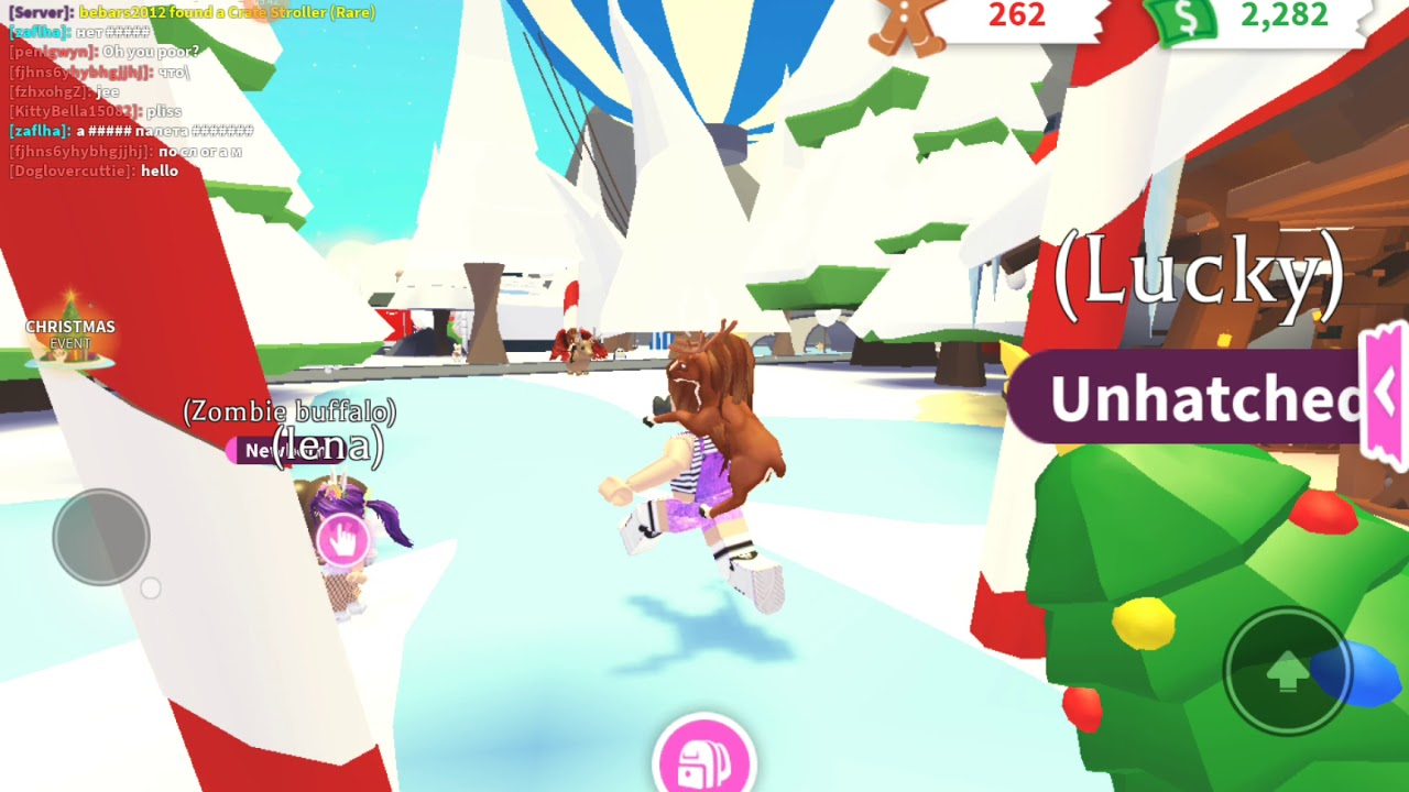 Hatching the new adopt me christmas egg in adopt me - YouTube
