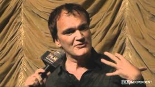 Quentin Tarantino And Pam Grier On Jackie Brown For Film - Sponsored By Ovation.