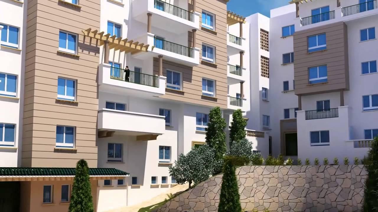 Vid o 3d de la r sidence les vosges tunisie immobili re - Appartement luxe en californie horst architects ...