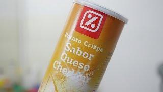 [Review] Papas sabor queso cheddar (DIA)