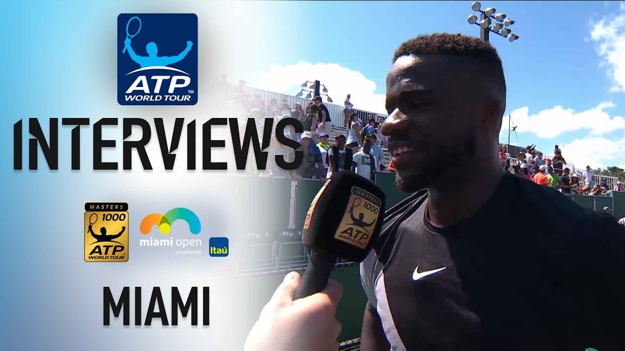 NextGenATP Tiafoe Reflects On Upset Win In Miami 2018