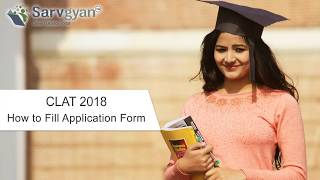 CLAT 2018 Application Form  How to Fill Guide