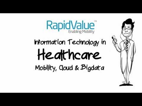 Information Technology in Healthcare - Infographic By RapidValue Solutions