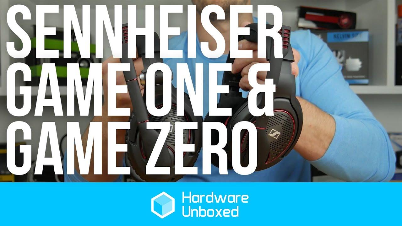 Sennheiser Game Zero   Game One  Review - YouTube 05e34a4768499